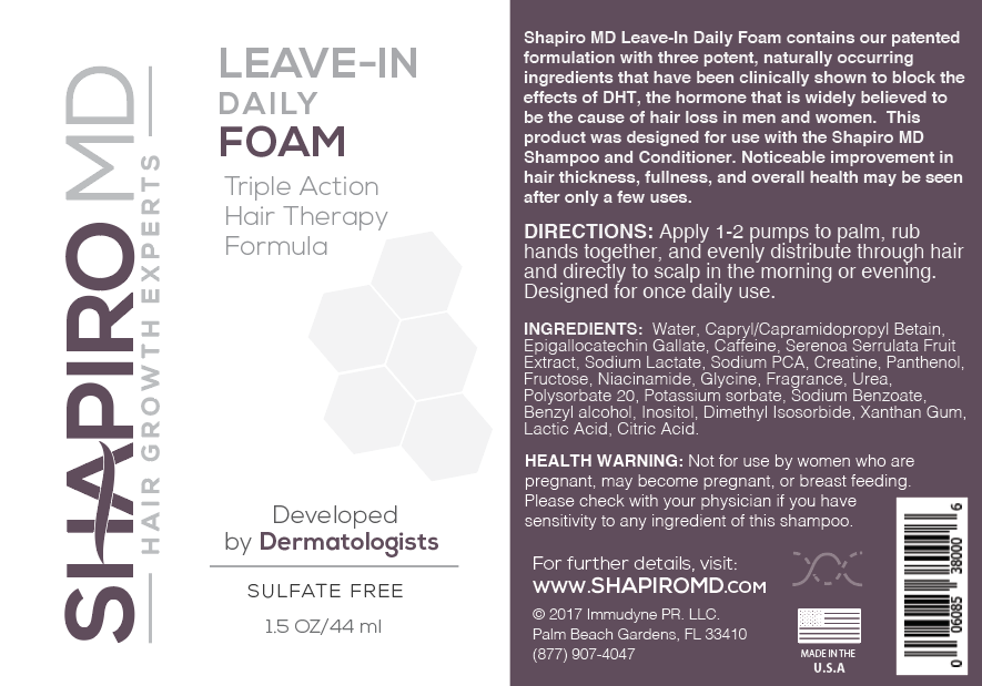 Shapiro MD - Leave-in Foam